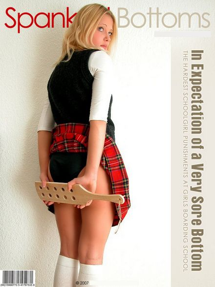 spanked bottoms at girls boarding school
